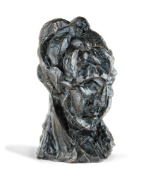 Head of a Woman (Fernande), a bronze sculpture by Picasso.