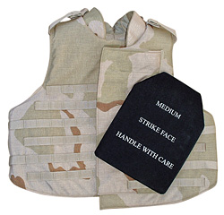PROTECTIVE BARRIER Ceramic plates slipped into vest pockets create body armor capable of withstanding multiple hits  sc 1 st  American Chemical Society : body armor ceramic plates - Pezcame.Com