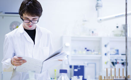 Support Woes: U.K. chemists are concerned about future funding.