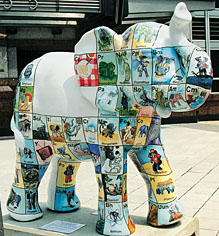In Late May Acs Headquarters Washington D C Received A Bundle Of Joy An Elephant Adorned With Periodic Table Elephants