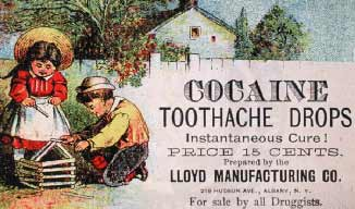Patent medicine recipes were not, in fact, patented, though the formulas were usually a secret