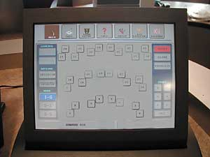Figure 7- picture of computer touch screen