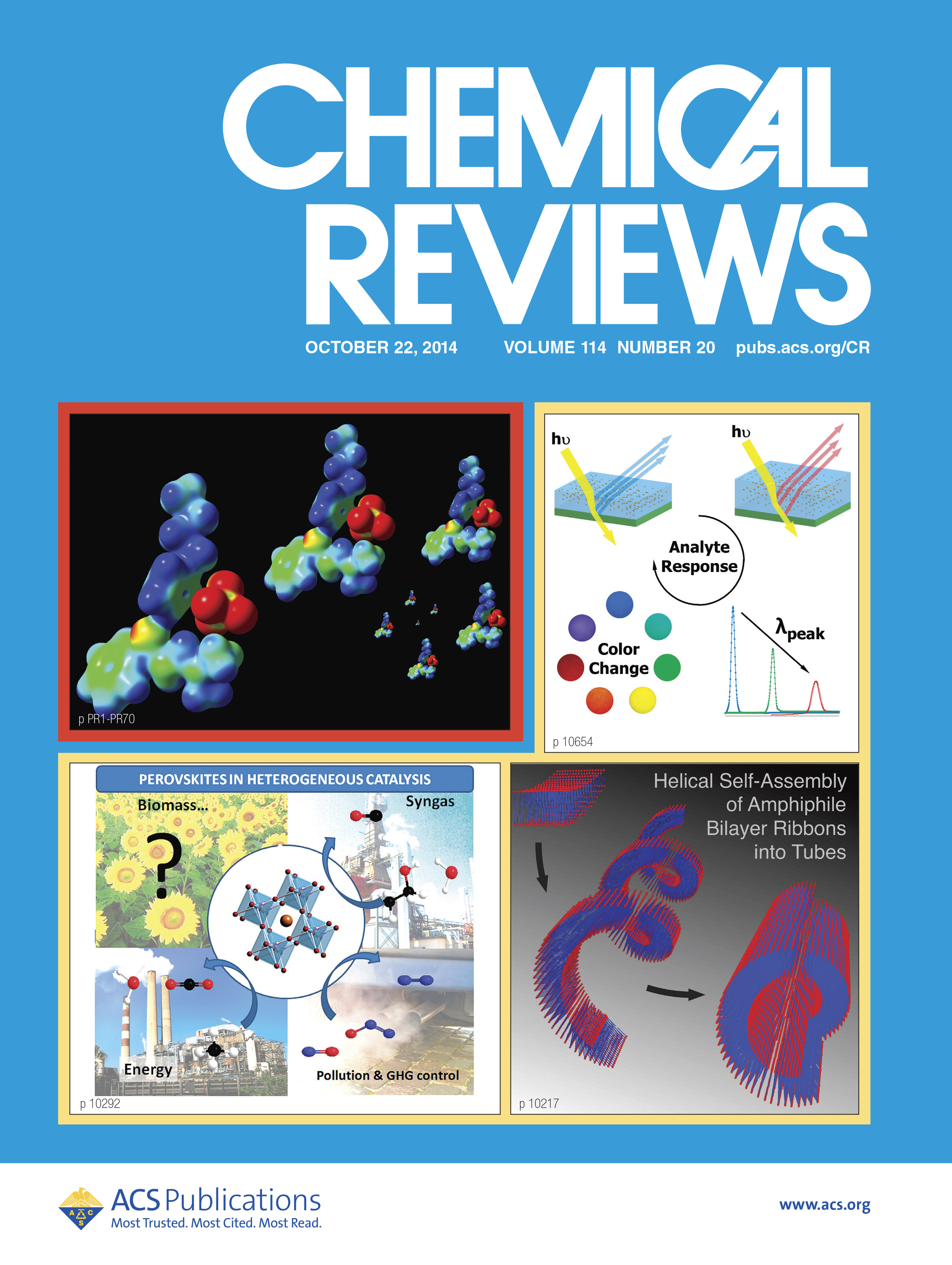 Chemical Reviews Front Cover