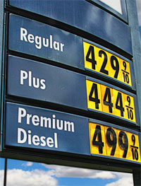 Conservation got a boost earlier this year, when gasoline prices soared to record levels.
