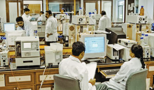 AT THE READY Quality control and analytical services are in demand at full-service companies.