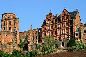 OLD AND NEW Heidelberg Castle stands in stark contrast to the high-tech research that goes on in the Rhine-Neckar biotech cluster.