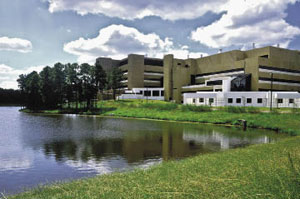 Home base Birnbaum now directs NIEHS, which is situated on a small lake in Research Triangle Park, N.C.