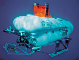 What Lies Beneath Pisces IV is one of the two deep-diving submersibles being used by researchers to locate military munitions.