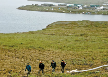 EXTREME SCIENCE: Long-term research is conducted in the area around Toolik Field Station.