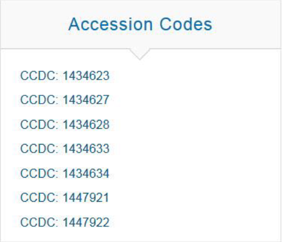 Accession code example